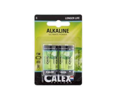 Calex batterijen Alkaline kleine staaf LR14/C 1,5V