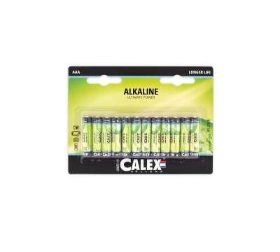 """Calex batterijen Alkaline penlite LR03/AAA 1,5V """"s"""
