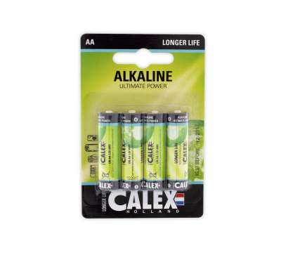 Calex batterijen Alkaline penlite LR6/AA 1,5V, bli