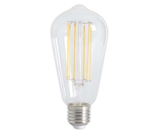 Calex LED volles Glas Rustic Glühlampe Dimmbare