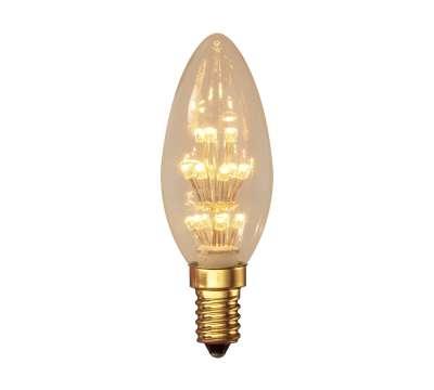 Calex Pearl LED Kaarslamp 1,0W E14 2100K