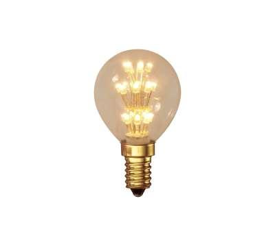 Calex Pearl LED Kugel Birne 240V 0,9W E14 P45, 17-
