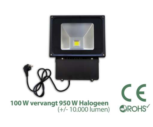100 Watt LED Baustrahler / LED Fluter
