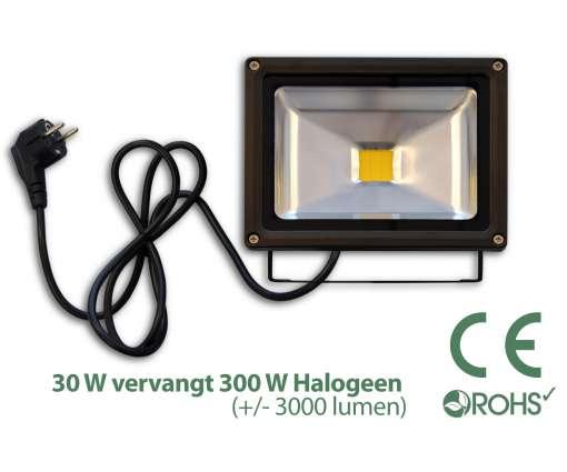 30 Watt LED Baustrahler / LED Fluter