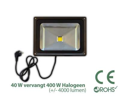 Led Bouwlamp 40 watt