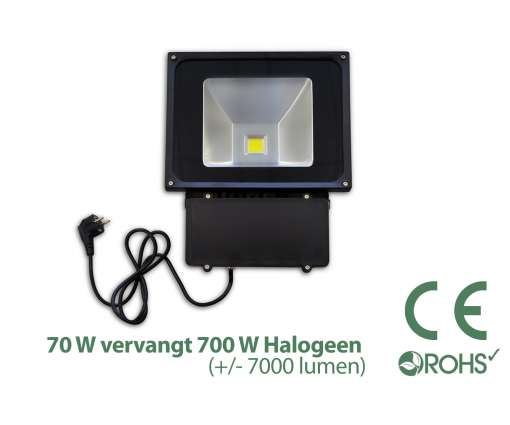 70 Watt LED Baustrahler / LED Fluter