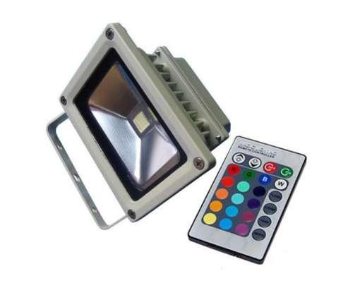 10 Watt LED Fluter / Baustrahler / Baulampe / Arbe