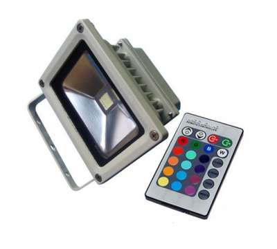 Led Bouwlamp 20 watt met RGB