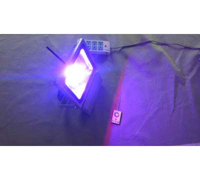 Led Bouwlamp 120 watt RGB (met kleuren)
