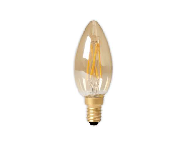 Led Lampen Dimbaar : Led lamp calex dimbare led filament kaarslamp w e light by leds