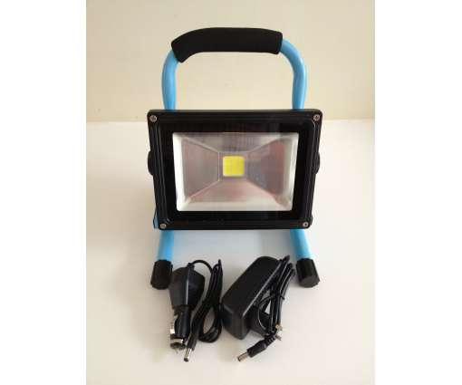 20 Watt aufladbare LED Fluter / LED Baustrahler /